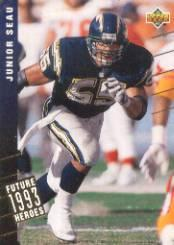 1993 Upper Deck Future Heroes #38 Junior Seau