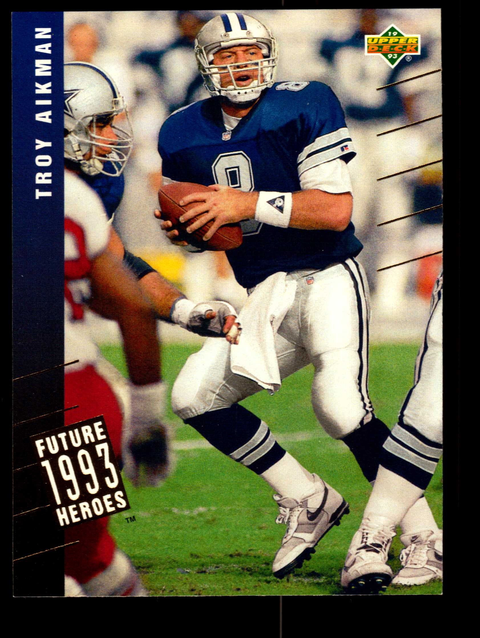 1993 Upper Deck Future Heroes #40 Troy Aikman