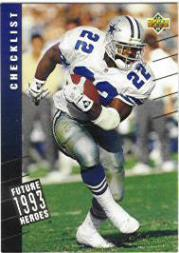 1993 Upper Deck Future Heroes #45 Emmitt Smith CL