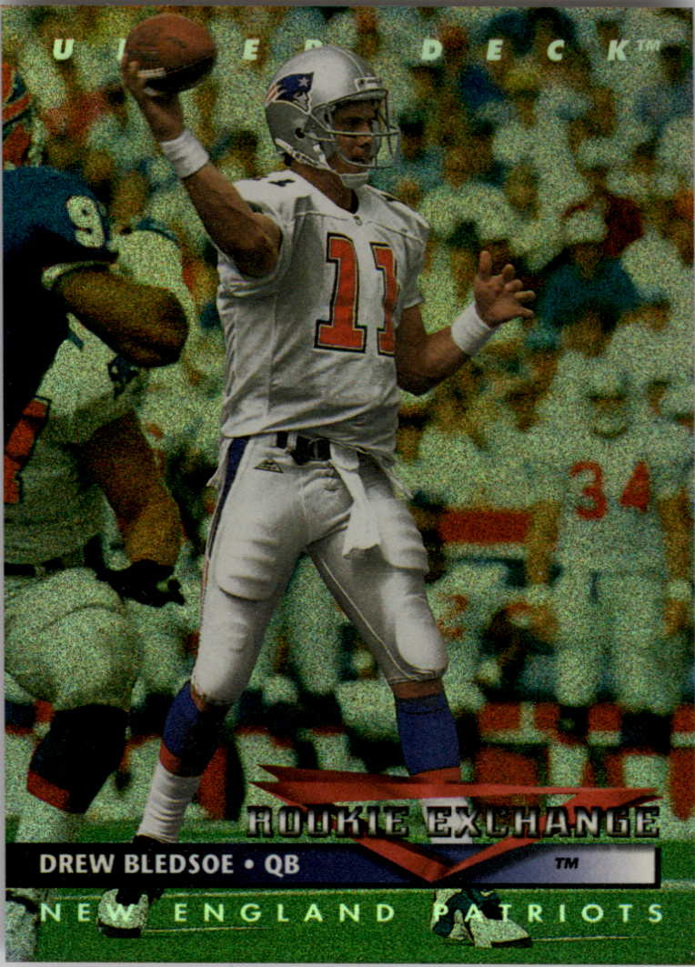 1993 Upper Deck Rookie Exchange #RE2 Drew Bledsoe UER