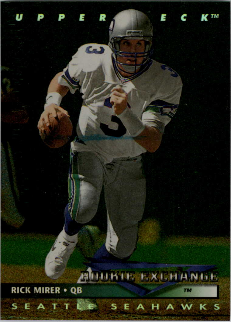 1993 Upper Deck Rookie Exchange #RE3 Rick Mirer