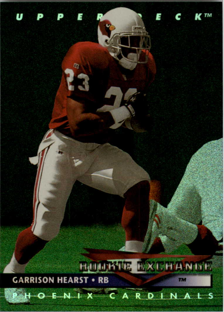 1993 Upper Deck Rookie Exchange #RE4 Garrison Hearst