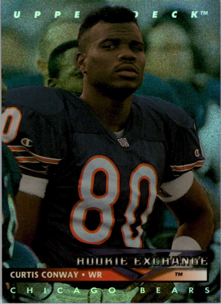 1993 Upper Deck Rookie Exchange #RE6 Curtis Conway