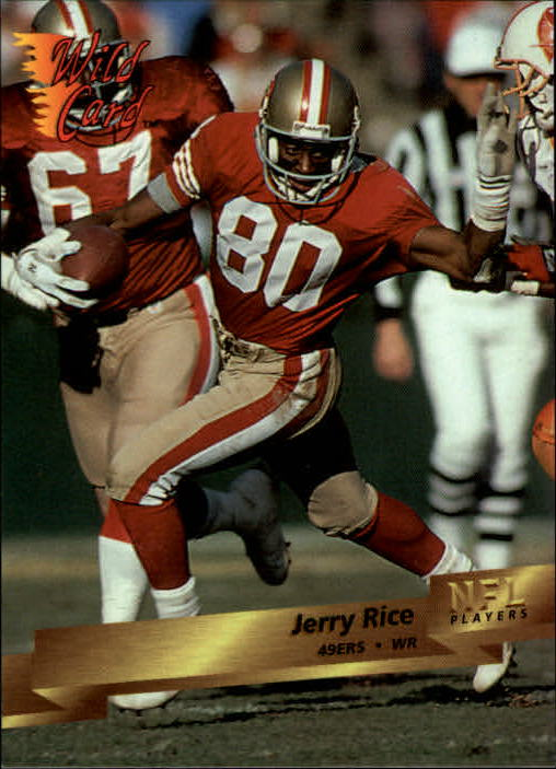 1993 Wild Card #4 Jerry Rice