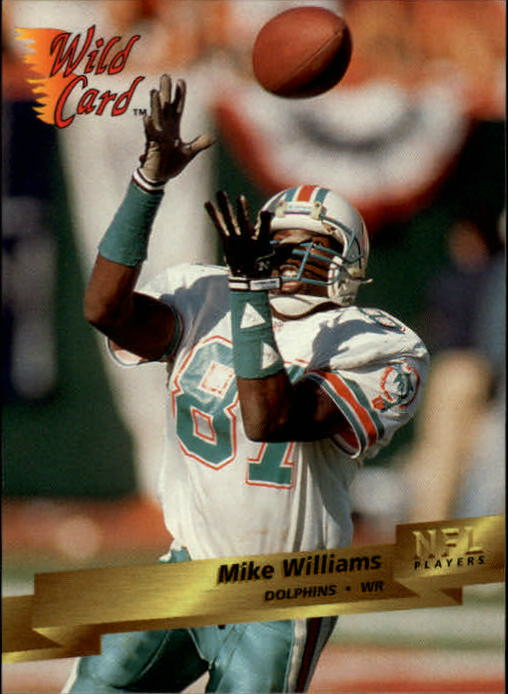 1993 Wild Card #89 Mike Williams WR RC