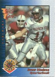 1993 Wild Card Field Force #87 Drew Bledsoe