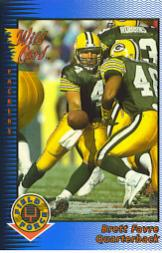 1993 Wild Card Field Force #112 Brett Favre