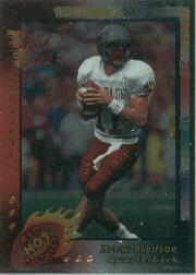 1993 Wild Card Superchrome Red Hot Rookies #8 Drew Bledsoe