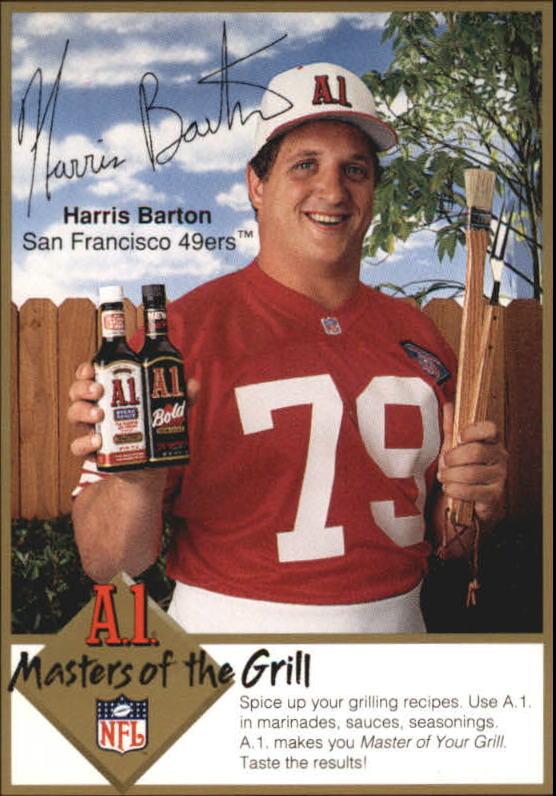 1994 A1 Masters of the Grill #1 Harris Barton