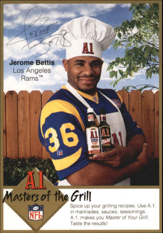 1994 A1 Masters of the Grill #2 Jerome Bettis