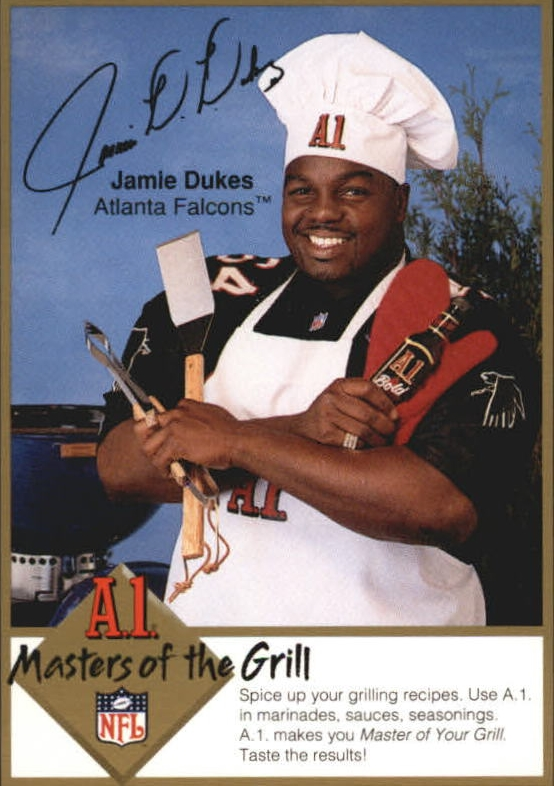 1994 A1 Masters of the Grill #5 Jamie Dukes