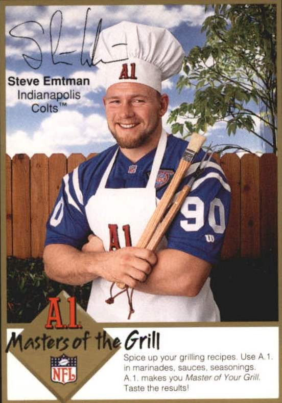 1994 A1 Masters of the Grill #6 Steve Emtman
