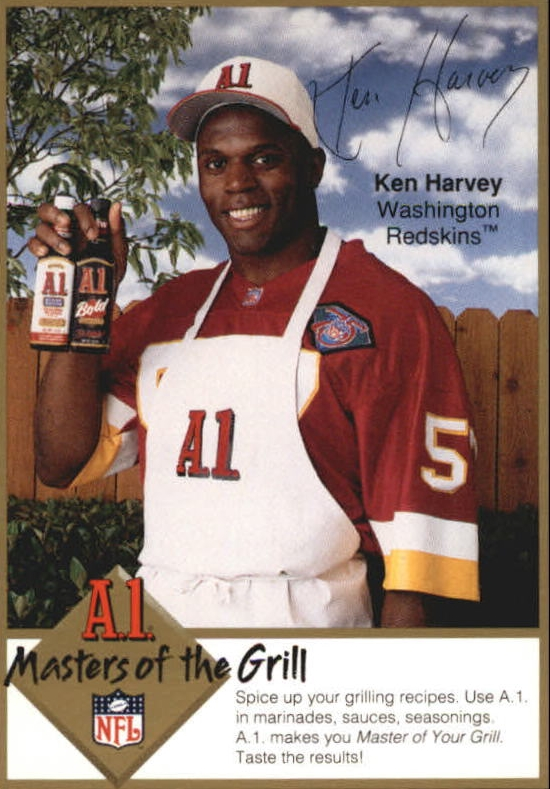1994 A1 Masters of the Grill #9 Ken Harvey