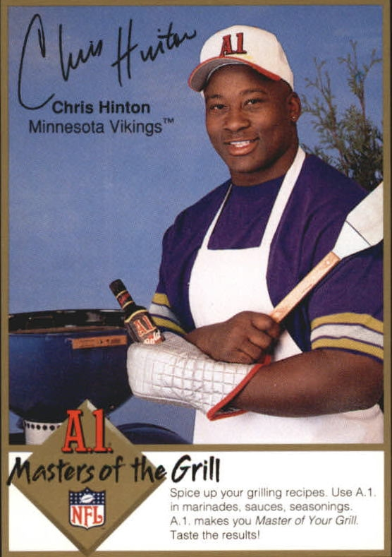 1994 A1 Masters of the Grill #10 Chris Hinton