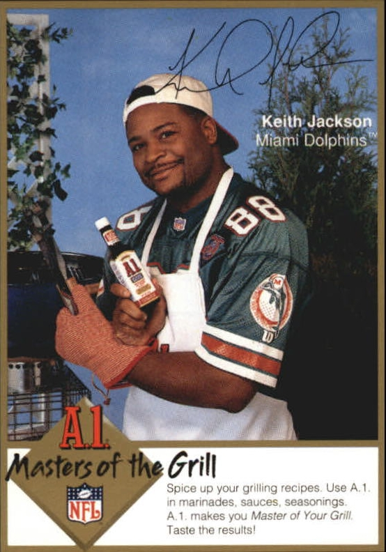 1994 A1 Masters of the Grill #12 Keith Jackson