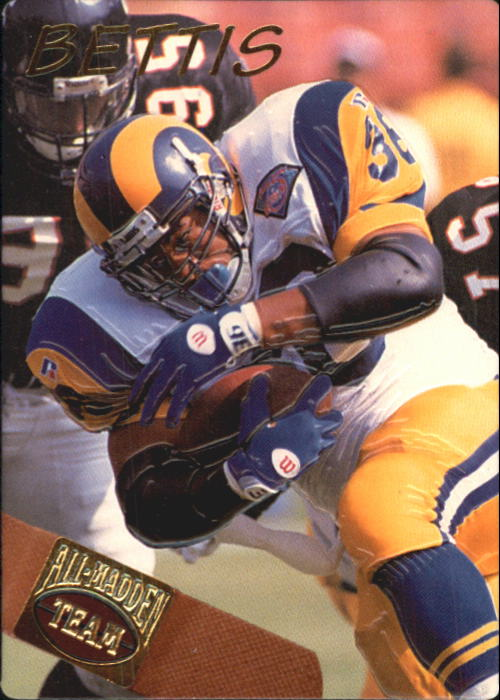 1994 Action Packed All-Madden #2 Jerome Bettis