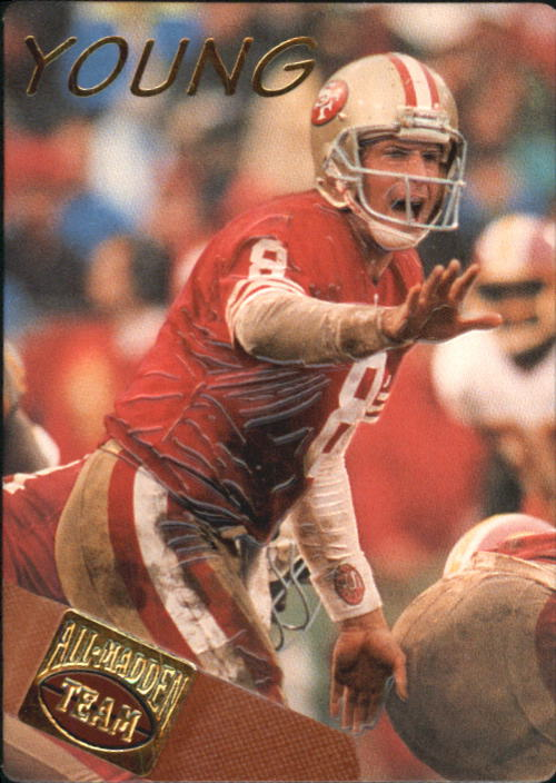 1994 Action Packed All-Madden #3 Steve Young