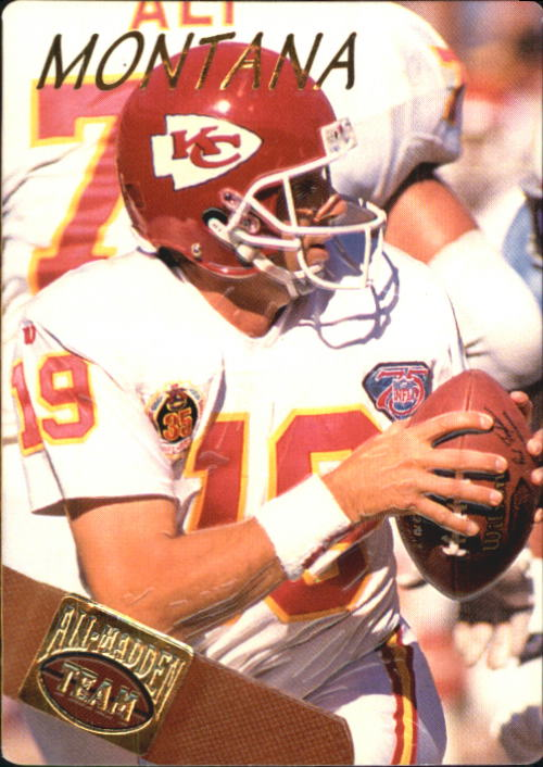 1994 Action Packed All-Madden #11 Joe Montana