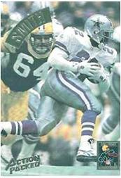 1994 Action Packed Mammoth #MM23 Emmitt Smith