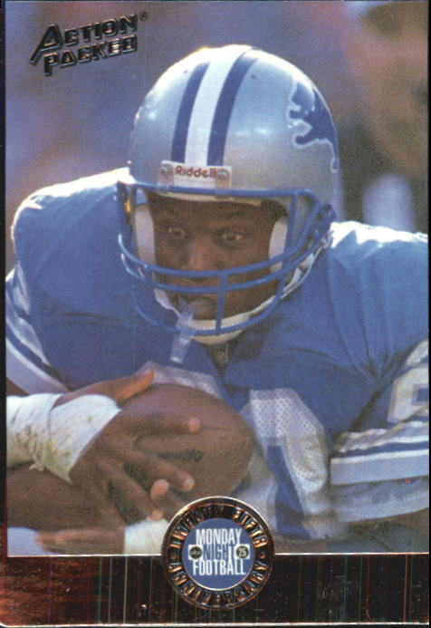 1994 Action Packed Monday Night Football #8 Barry Sanders