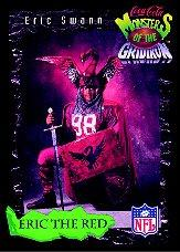 1994 Coke Monsters of the Gridiron #1 Eric Swann