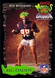 1994 Coke Monsters of the Gridiron #6 Dan Wilkinson