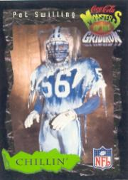 1994 Coke Monsters of the Gridiron #10 Pat Swilling