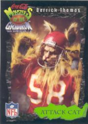 1994 Coke Monsters of the Gridiron #15 Derrick Thomas