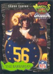 1994 Coke Monsters of the Gridiron #17 Shane Conlan