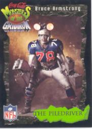1994 Coke Monsters of the Gridiron #20 Bruce Armstrong