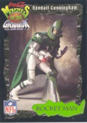 1994 Coke Monsters of the Gridiron #24 Randall Cunningham