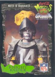 1994 Coke Monsters of the Gridiron #25 Neil O'Donnell