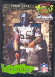 1994 Coke Monsters of the Gridiron #26 Junior Seau