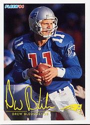 1994 FACT Fleer Shell #20 Drew Bledsoe