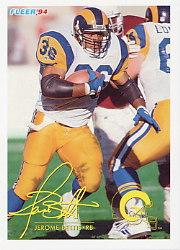 1994 FACT Fleer Shell #76 Jerome Bettis