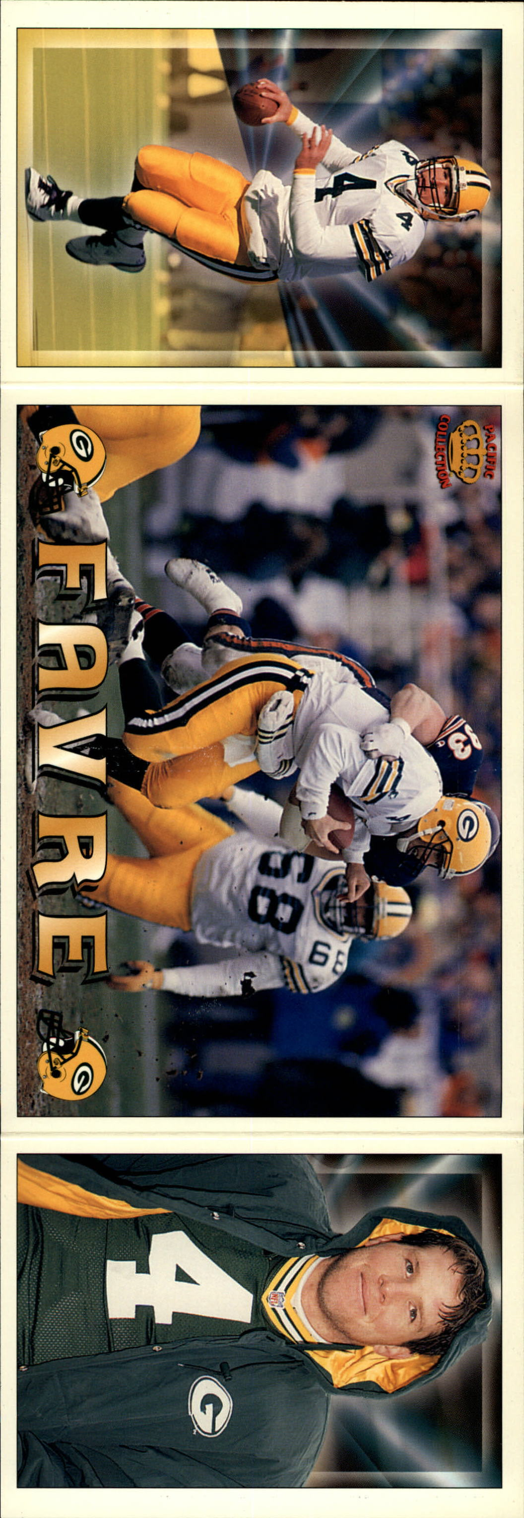 1994 Pacific Triple Folders #12 Brett Favre