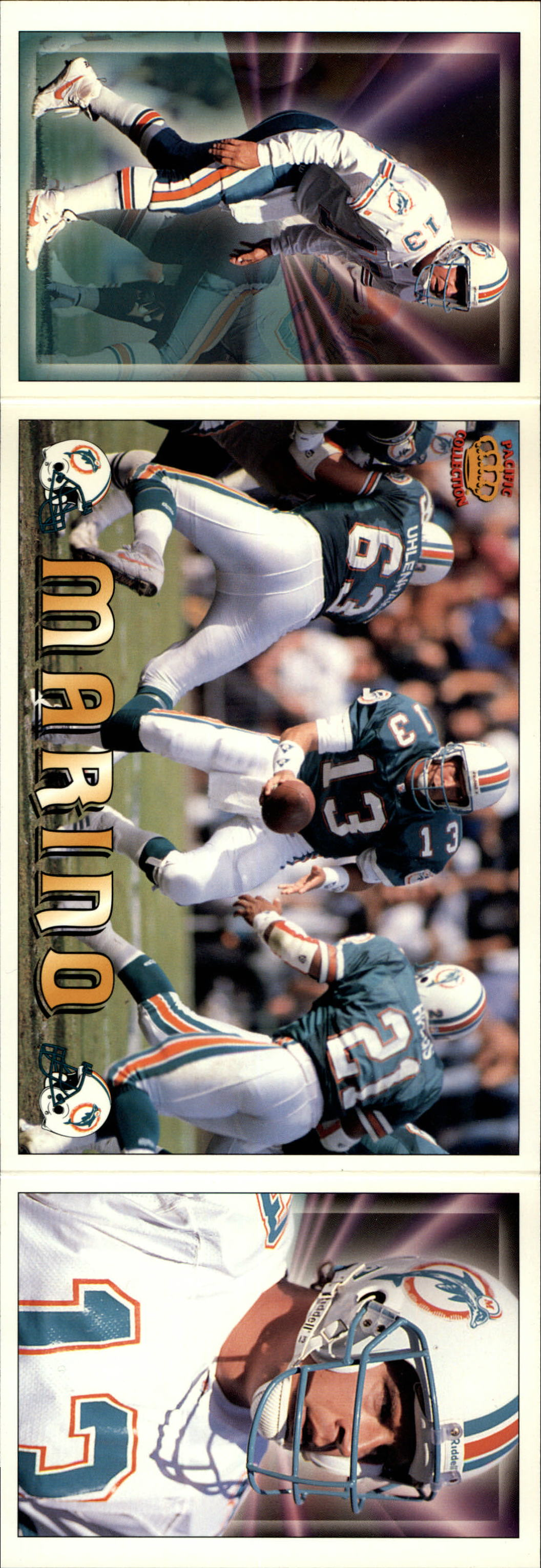 1994 Pacific Triple Folders #19 Dan Marino