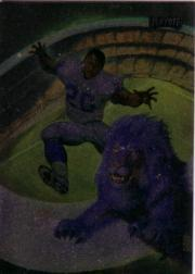 1994 Playoff Julie Bell Art #4 Barry Sanders