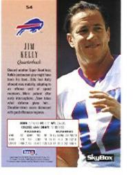 1994 SkyBox Premium Promos #S4 Jim Kelly back image