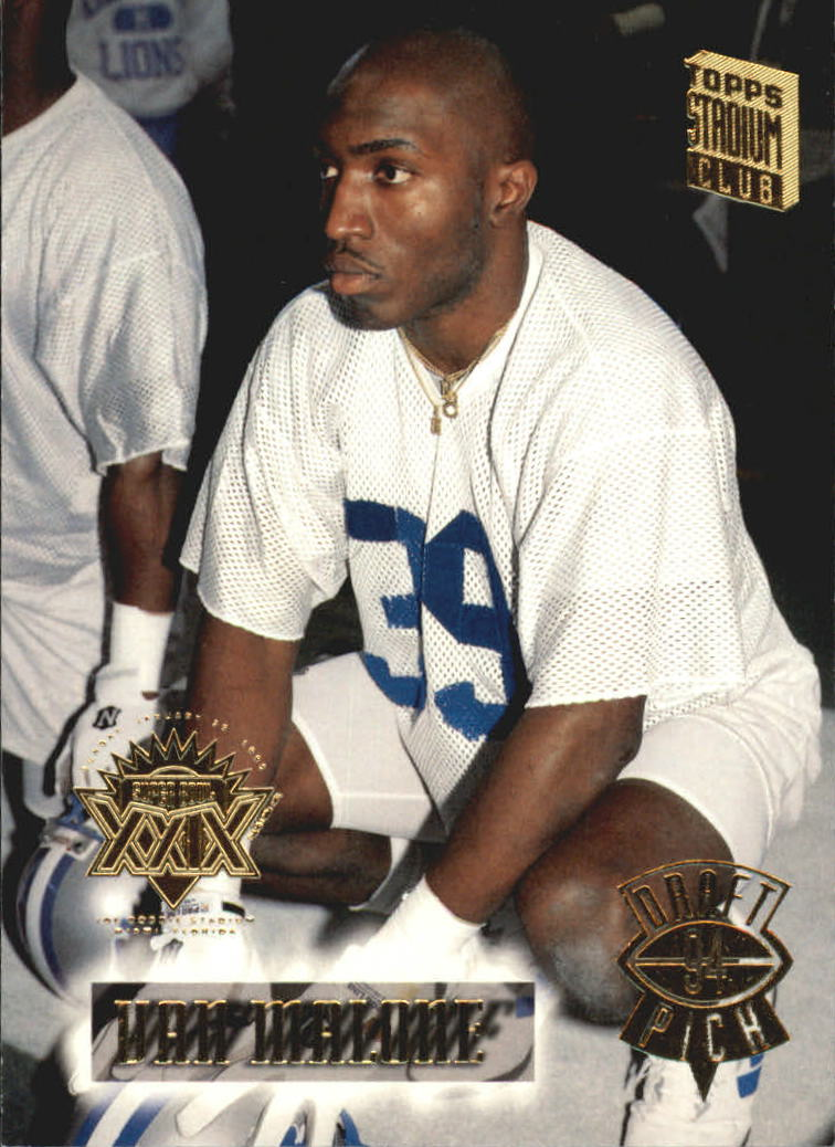 1994 Stadium Club Super Bowl XXIX #147 Van Malone