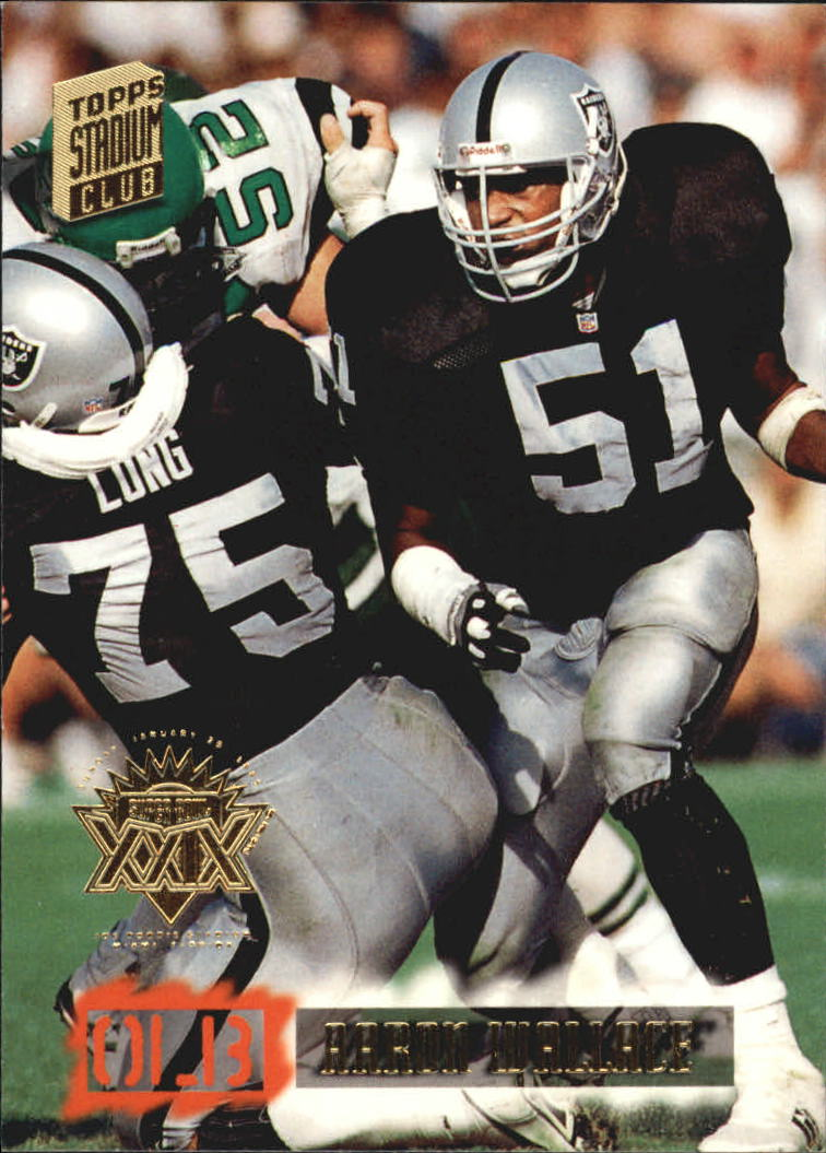 1994 Stadium Club Super Bowl XXIX #175 Aaron Wallace