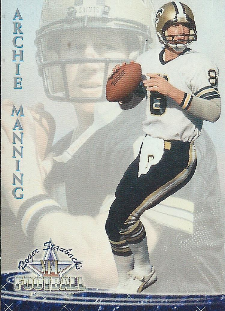 1994 Ted Williams #38 Archie Manning