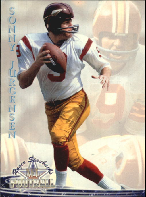 1994 Ted Williams #61 Sonny Jurgensen
