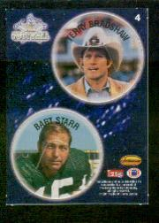 1994 Ted Williams POG Cards #4 Terry Bradshaw/Bart Starr