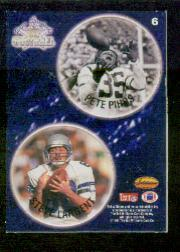 1994 Ted Williams POG Cards #6 Pete Pihos/Steve Largent