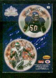 1994 Ted Williams POG Cards #10 Mike Singletary/Harold Carmichael