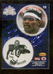 1994 Ted Williams POG Cards #13 Walter Payton/Gale Sayers front image