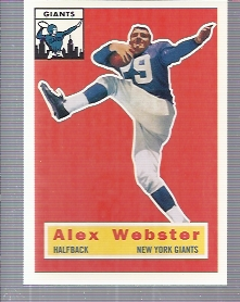 1994 Topps Archives 1956 #5 Alex Webster