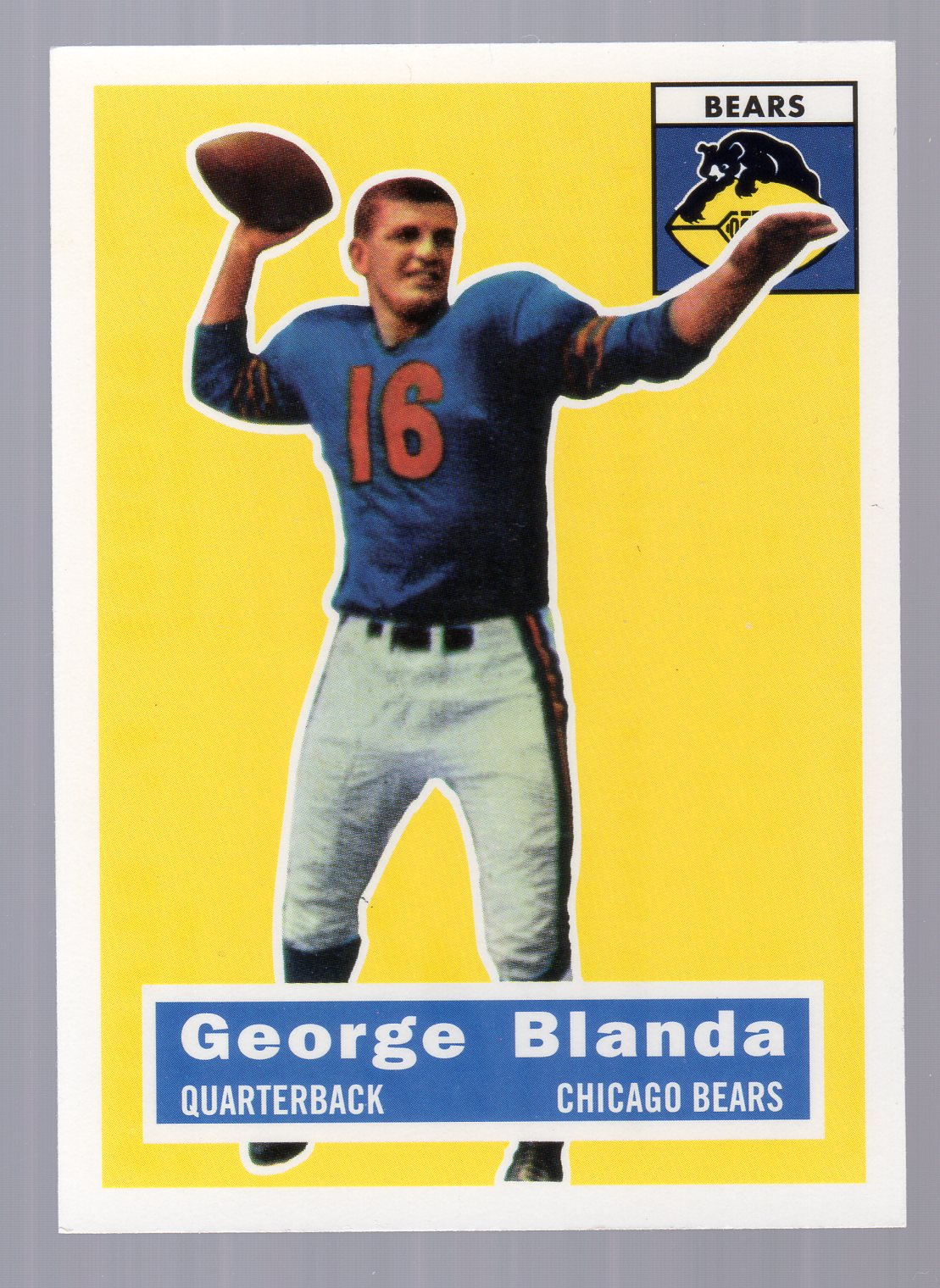 1994 Topps Archives 1956 #11 George Blanda