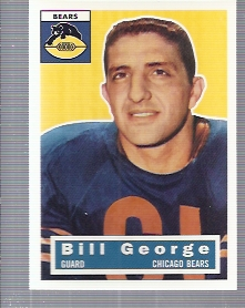1994 Topps Archives 1956 #47 Bill George